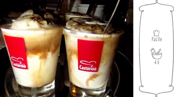 granita alle mandorle e caffè water ice