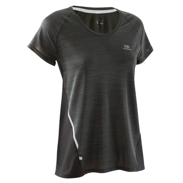Kadın Sıcak Hava Koşu Kıyafetleri Kadın Spor Giyim - RUN LIGHT TİŞÖRT  KALENJI - Kadın Spor Giyim