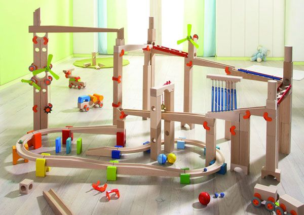 Haba wooden marble run : The Marble run shop