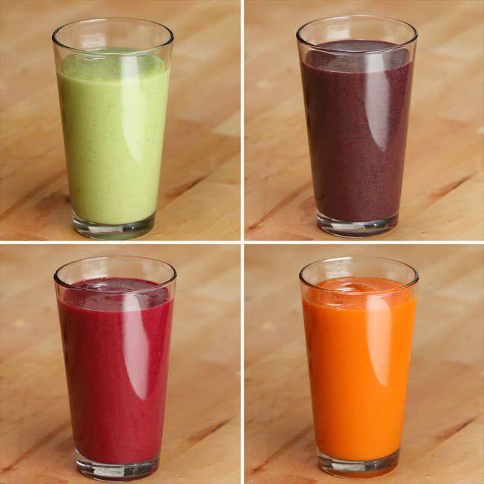 4 Smoothie-Rezepte voller Gemüse Sie essen nicht genug Gemüse …   – jus de légumes et fruits et smoothie