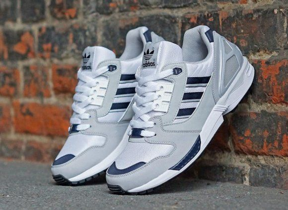 #adidas Originals ZX 8000 Running White/Collegiate Navy/Light Solid Green  #sneakers