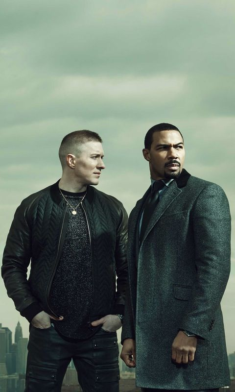 Joe Sikora & Omari Hardwick STARZ - Power - A STARZ Original Series