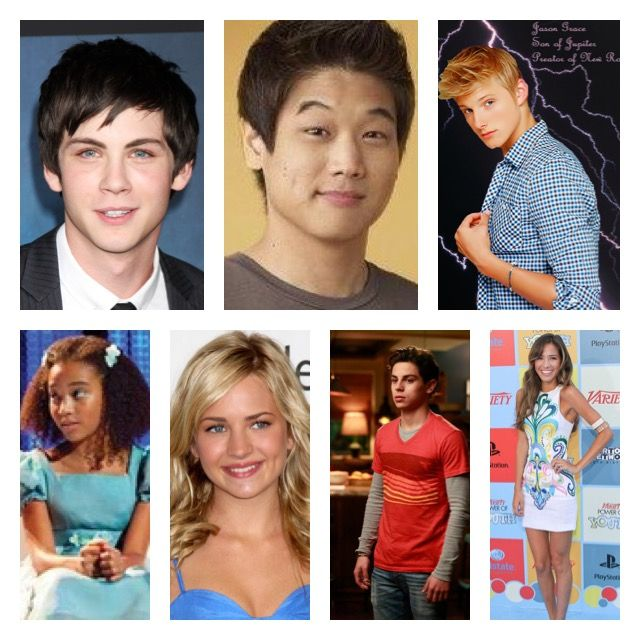 Dream cast for Percy Jackson Olympians/hero's of Olympus The 7 of the Prophecy