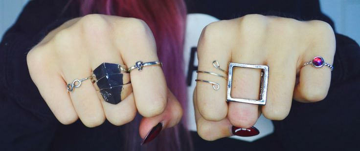 Amy Valentine, amyvalentine.co.uk features the Silver Metal Cube Ring #bloggers #silver #cube #ring #fashion #style