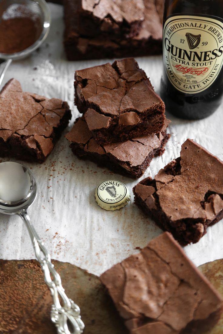 Five Ingredient Guinness Brownies | Sprinkle Bakes