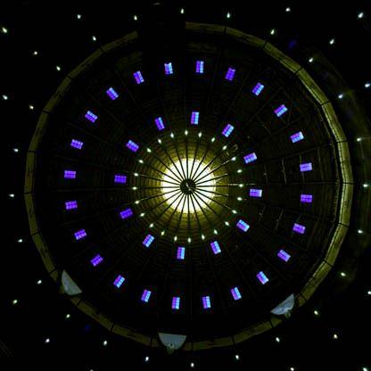Centrale compositie: Bij een centrale compositie kun je heel duidelijk het centrum van de etalage aanwijzen.