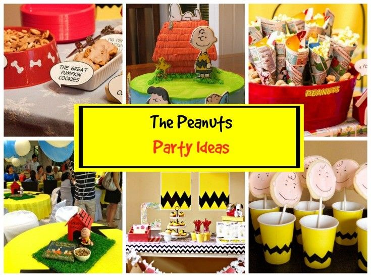 Charlie Brown Characters, Peanuts Gang And Snoopy