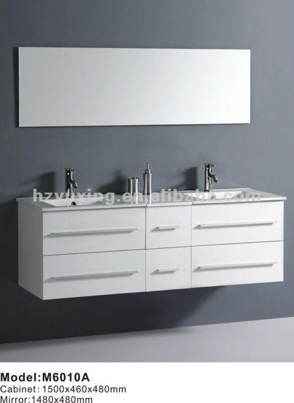 lavamanos dobles modernos - Buscar con Google