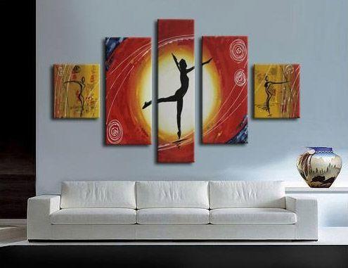 Cuadro abstracto moderno atardecer pinturas pinterest - Cuadros decorativos para cocina abstractos modernos ...