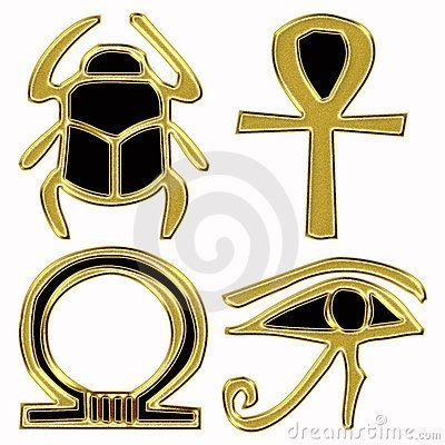 Símbolos egipcios: