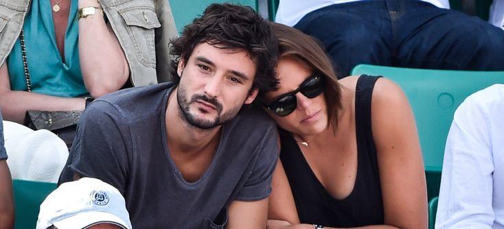 Roland-Garros : Laure Manaudou, entre câlins et gestes tendres avec Jérémy Frérot