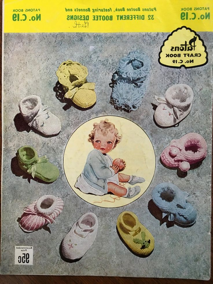 Early Vintage Knitting Patterns Australia Patons #C19 Original Knitting Book by…