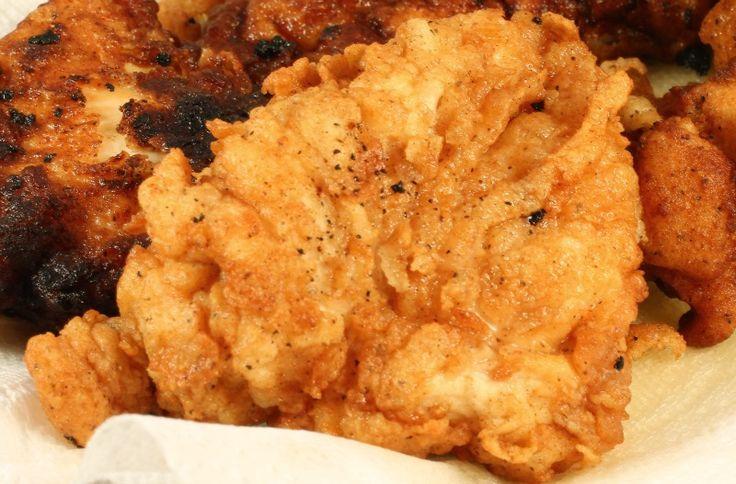 Granny's Secret Fried Chicken (Aunt Jemima pancake flour)