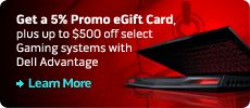 Give the perfect gift with an Alienware Gift Card