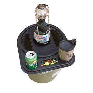 Catch cover ice fishing bucket top organizer mills fleet for Fleet farm ice fishing