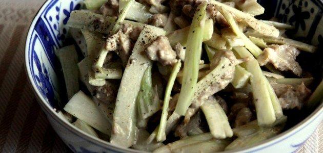 Японский салат из цыпленка с сельдереем – Вся Соль - кулинарный блог Ольги Баклановой