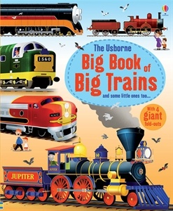 A fantastic book crammed with the world's biggest and best trains. Young train enthusiasts will love learning about record-breaking trains, mountain trains, luxury travel, diesel power, steam giants and high speed electric and lots more featured in this great big book packed with stats and facts. Includes four gatefold spreads which open out to reveal the truly stunning types of the world's trains.
