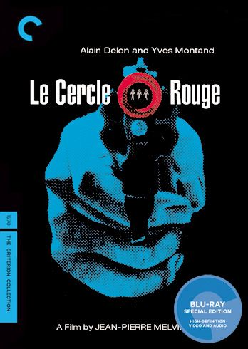 Le cercle rouge (1970) - No. 218 [Blu-ray cover by Art Chantry Design Co.]