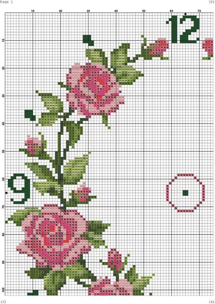 Ring of Roses Clock 3/6