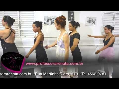 O Blog do Ballet - professora Renata Sanches: 10 primeiros exercícios para fazer em casa