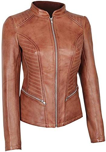 Enjoy exclusive for Womens Brown Leather Jacket – Genuine Motorcycle Leather Jackets online