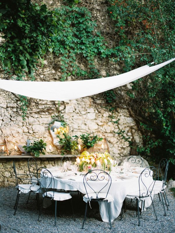 Intimate French Riviera Wedding via oncewed.com
