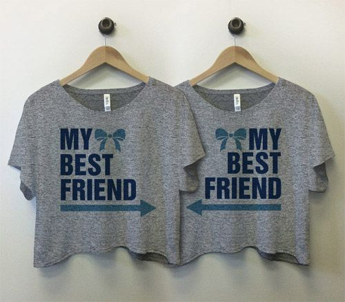 Best Friend Bow Arrow Tees @Dominique Kieana Freeney we need these for our trip (;