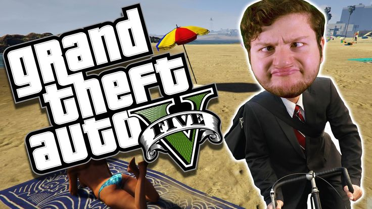 GTA 5 PC Online Funny Moments - BEACH BIKE WOOP DE DOO! (Custom Games) - YouTube