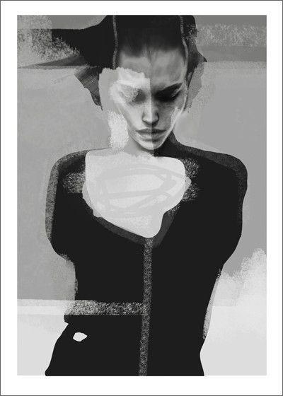 "Kunsttrykk // Artprint ""Implode"""