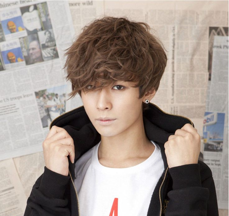 Korean Boy Hairstyle 2015