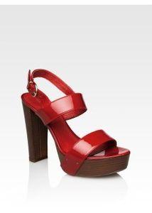 Туфли женские купить красные