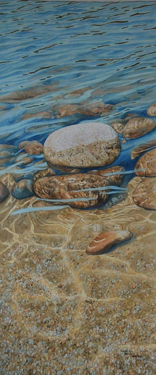3 Rocks (Silver Lake Near Loon Island)