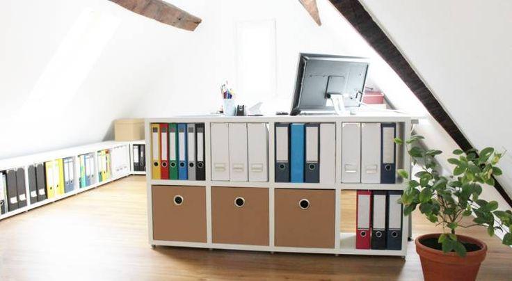 Arbeitszimmer - Büroregale Regalsystem BOON - regalraum.com