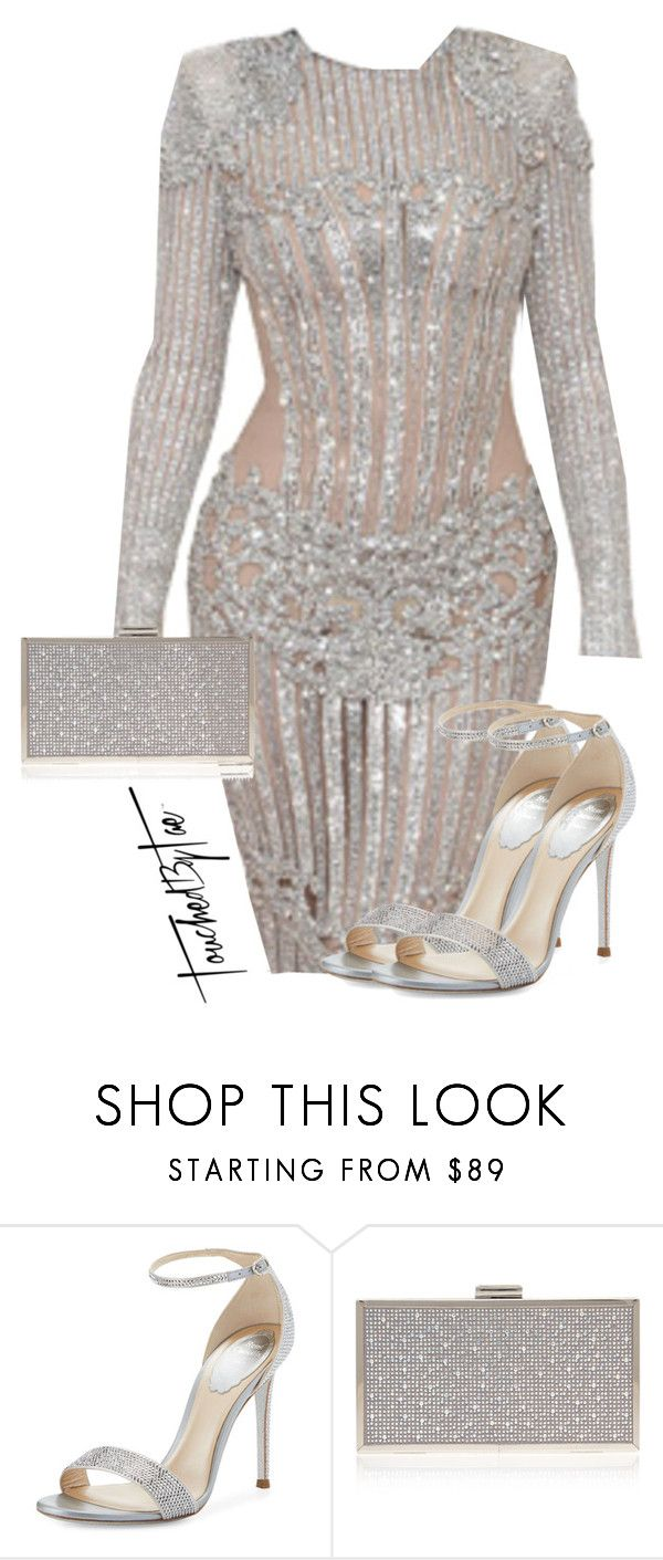 """Untitled #506"" by iamtaecarter ❤ liked on Polyvore featuring René Caovilla and Carvela Kurt Geiger"