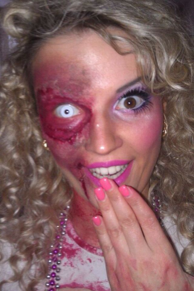 barbie zombie makeup - Where Can I Get Halloween Makeup Done