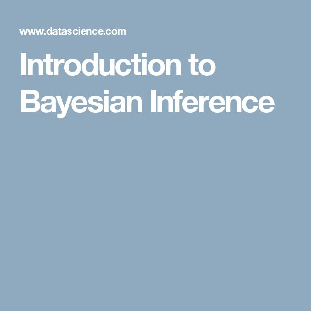 Introduction to Bayesian Inference