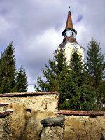 fortificatiile bisericii din Crit - zidul estic