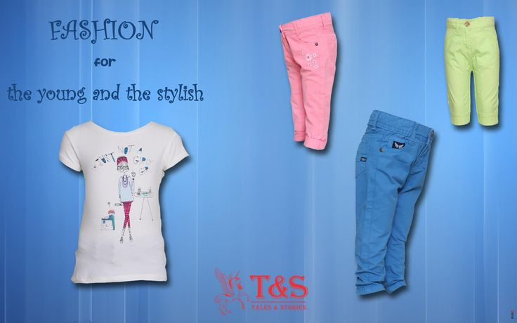 For young fashionistas. #kidswear #talesandstories