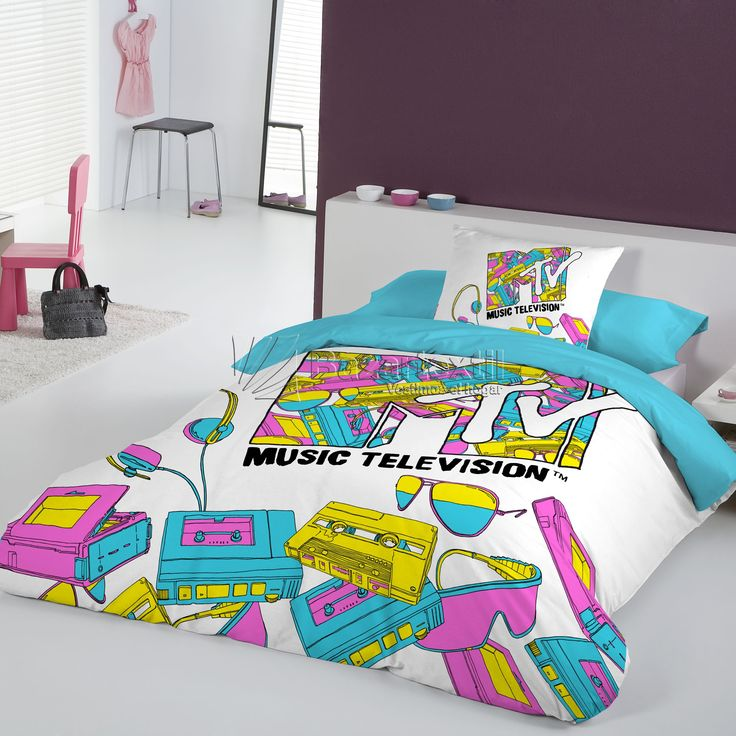 Funda Nórdica Music MTV