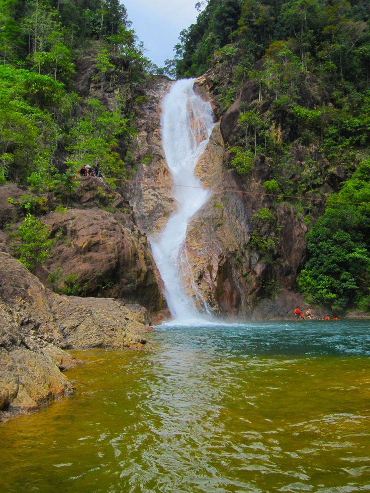Awesome! Bekelah Water Fall Pahang Malaysia