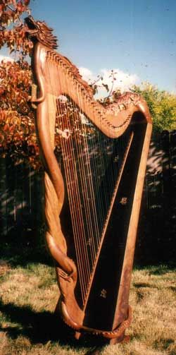 Celtic Harp, Folk Harp, Lever Harp, Irish Harp