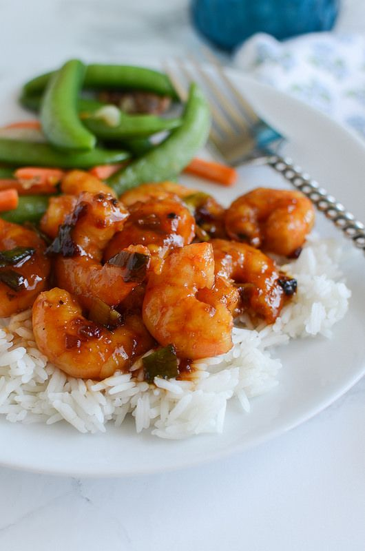 Spicy Orange Shrimp | The most delicious sauce over perfectly cooked ...