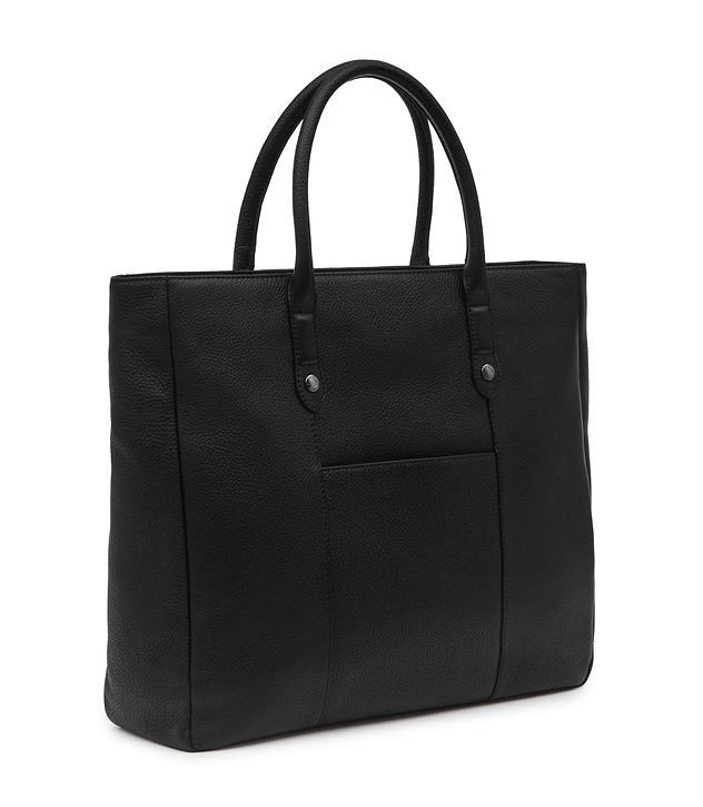 REISS - TIMMER GRAINED LEATHER TOTE BAG £95 in sale