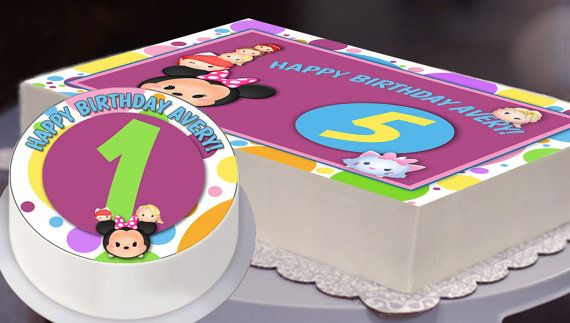 1000+ images about Tsum Tsum Disney Birthday Party Ideas ...