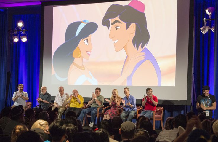 Aladdin and Jasmine Reunited Again, Plus Other Amazing Things from the D23 Expo Panel | Whoa | Oh My Disney