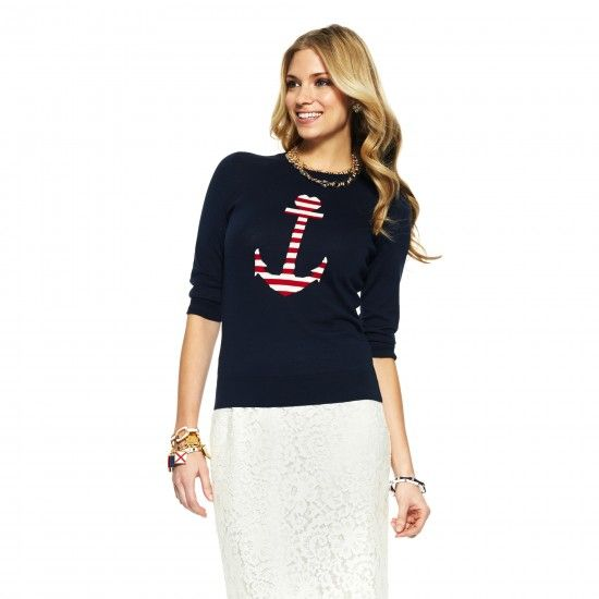 c.wonder anchors away sweater #anchors #nautical