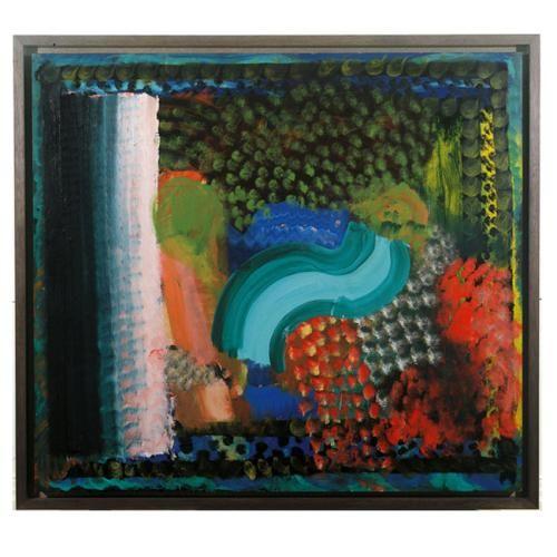 """Howard Hodgkin """"In The Bay of Naples"""" 1980"""