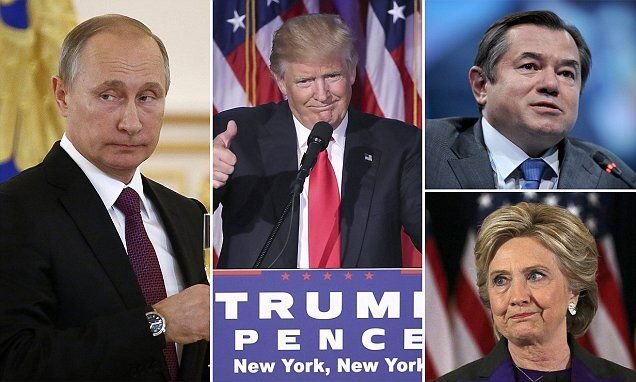 The Kremlin says a victory for Clinton would have sparked World War Three and electing Trump saved the world from Armageddon. 11/10/2016