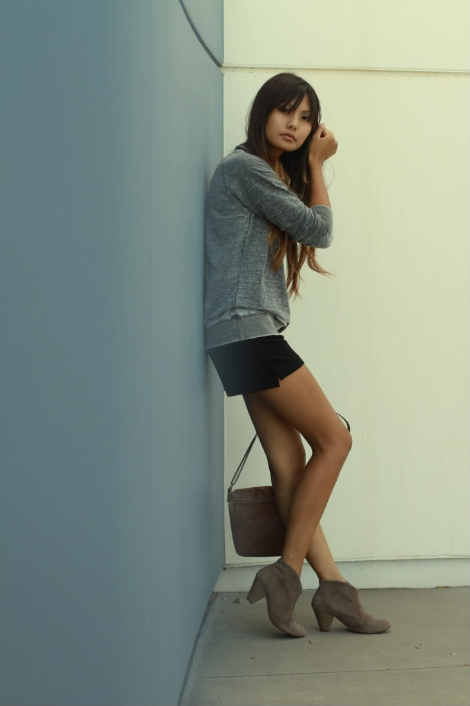 Zara Shorts ankle boots