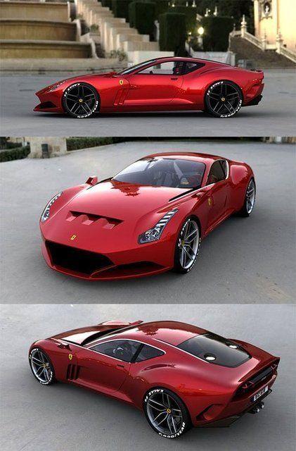 Ferrari 612 GTO.